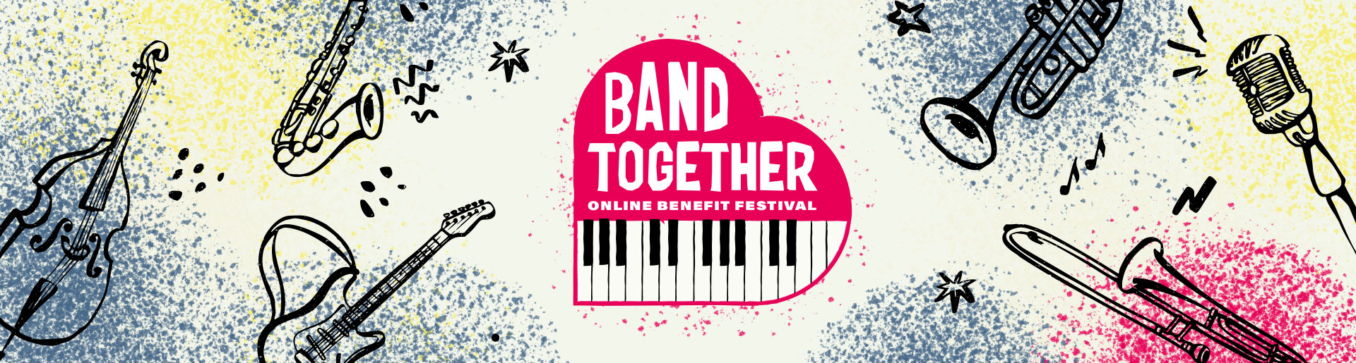 Band Together - Online Benefit Festival