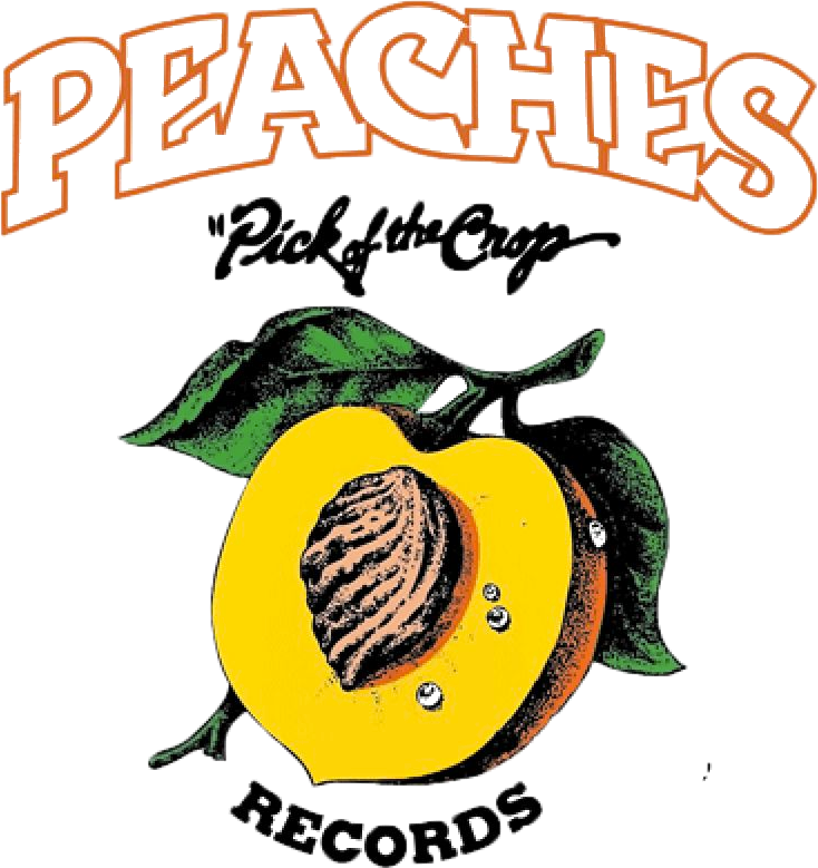 Peaches Records and Tapes Logo